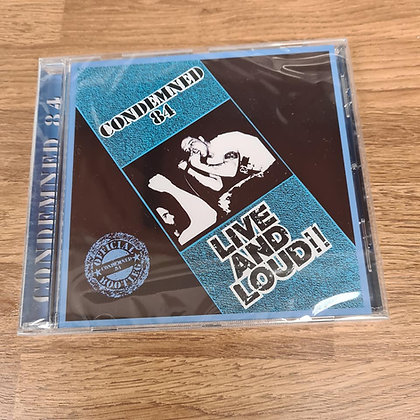 condemned 84 live and loud cd