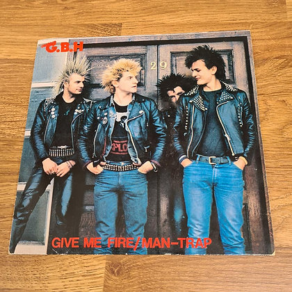 gbh give me fire vinyl single