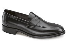 samuel windsor penny loafers black