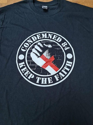 condemned 84 keep the faith official t shirt