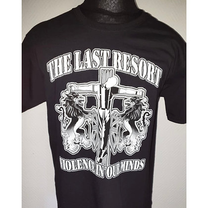 the last resort violence official t shirts