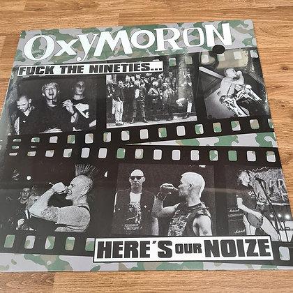 oxymoron heres our noize vinyl lp