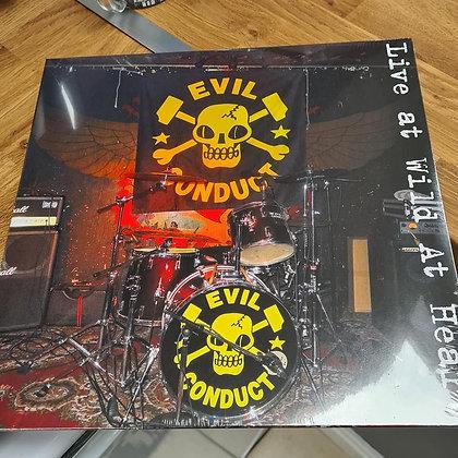 evil conduct live vinyl lp