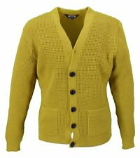 relco mustard waffle cardy