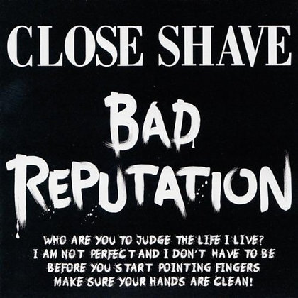 close shave bad rep cd