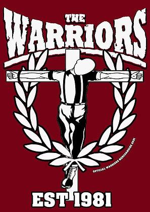 the warriors official t shirt skin on cross1