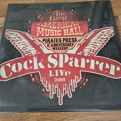 cock sparrer american music hall vinyl