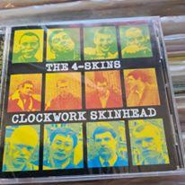 the 4 skins clockwork skinhead cd