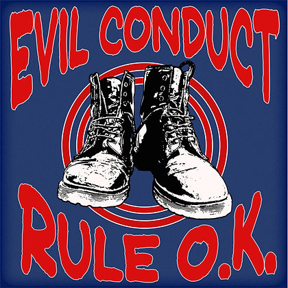 evil conduct rule ok vinyl lp
