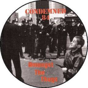 condemned 84 picture disc vinyl lp amongst the