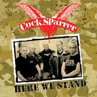 cock sparrer here we stand vinyl lp.