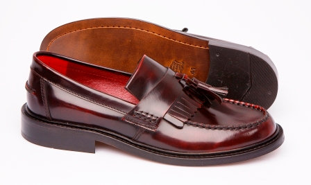 Delicious Junction Oxblood Loafers