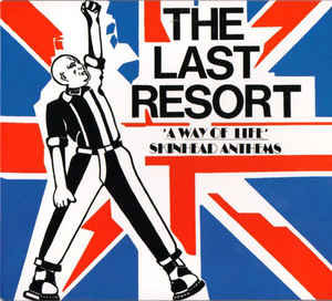 the last resort skinhead anthems vinyl lp.
