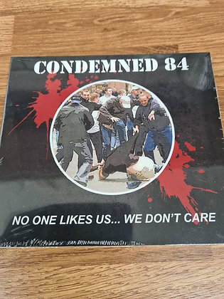 condemned 84 no one likes us cd
