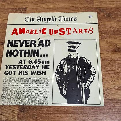 angelic upstarts never had nothin vinyl single