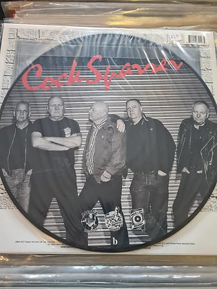 cock sparrer picture disc