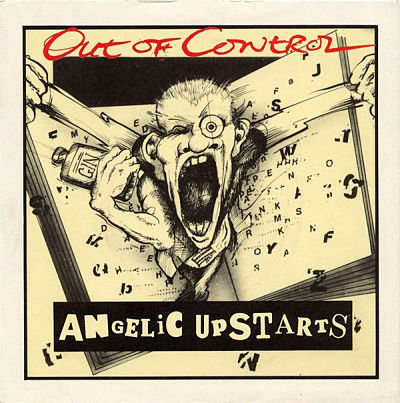 angelic upstarts out of control vinyl single