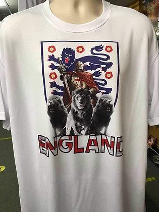 england 3 lions t shirts