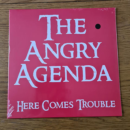 the angry agenda here comes vinyl lp