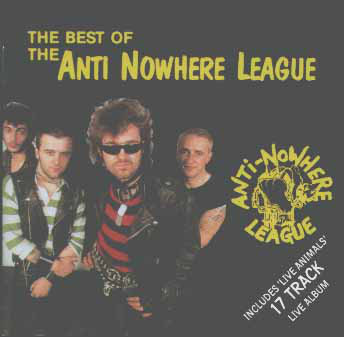 anti nowhere league best of cd 1