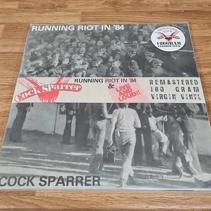 cock sparrer running riot vinyl