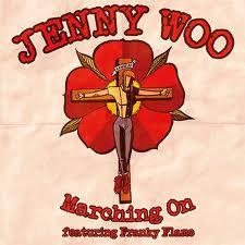 jenny woo marching on vinyl single