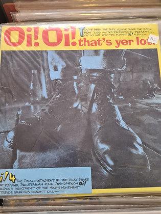 oi thats your lot colour vinyl lp