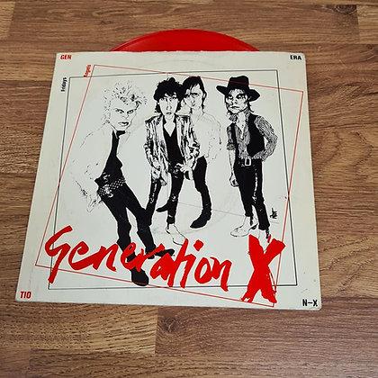 generation x red vinyl single