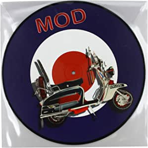mod picture disc vinyl lp.
