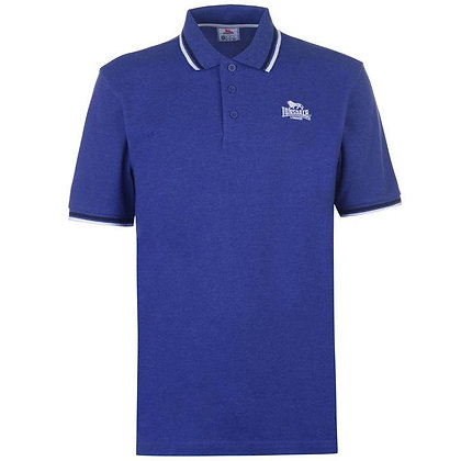 lonsdale blue polo shirt 2