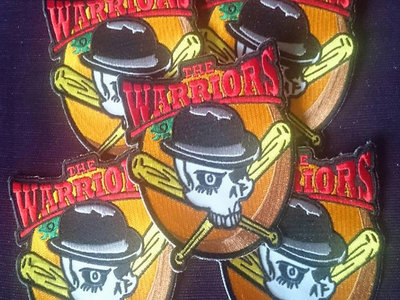 warrior official patches