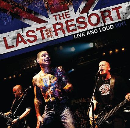 the last resort live and loud vinyl lp