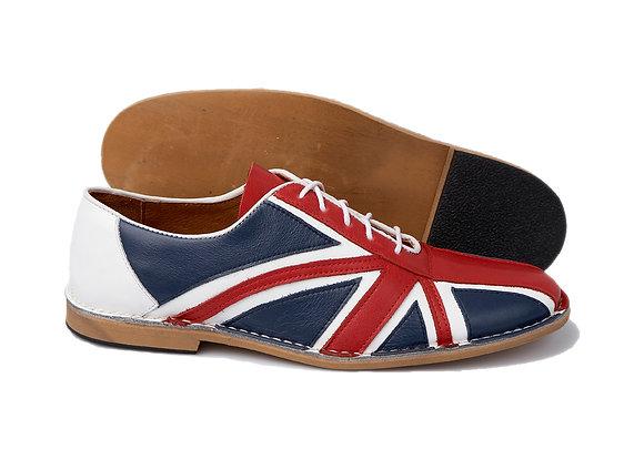 Delicious Junction Union Jack Bowling Shoes
