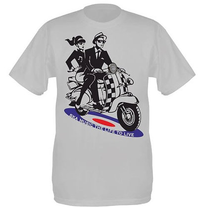 scooter ska t shirt