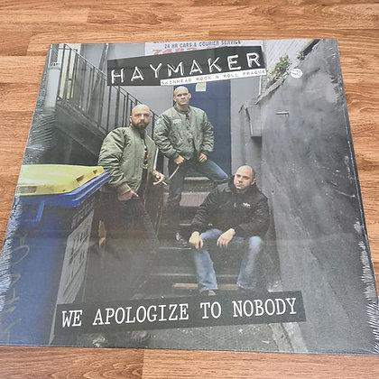 haymaker we apologize vinyl lp
