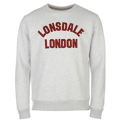lonsdale grey sweatshirt