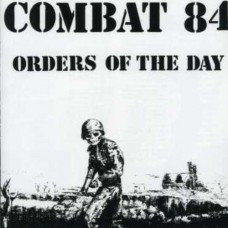 combat 84 orders of the day colour vinyl single