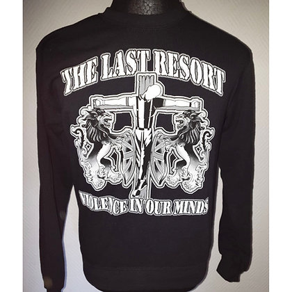 the last resort official sweatshirt violence