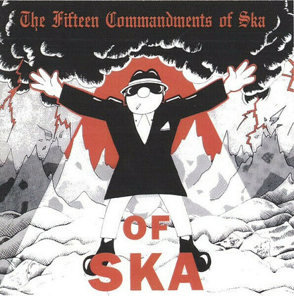 fifteen commandments of ska cd