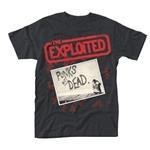 exploited punks not dead official t shirt