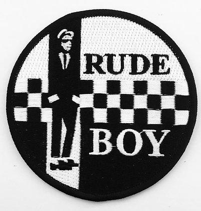 rude boy patch