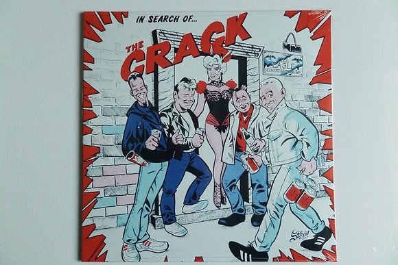 the crack in search of. vinyl lp