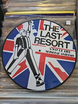 the last resort pictue disc album