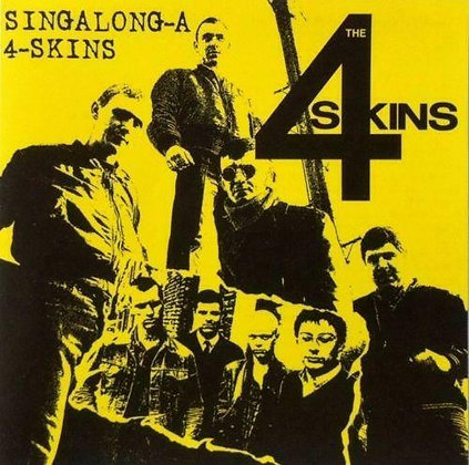 the 4 skins singalong cd