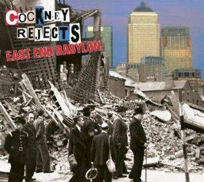 cockney rejects east end babylon cd