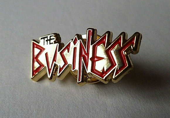 business metal badge