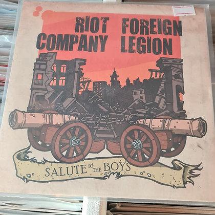 riot company, foriegn legion single