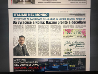 Da Syracuse a Roma - Cittadino.ca