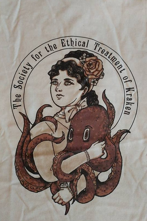 The Society for the Ethical Treatment of Kraken T-Shirt