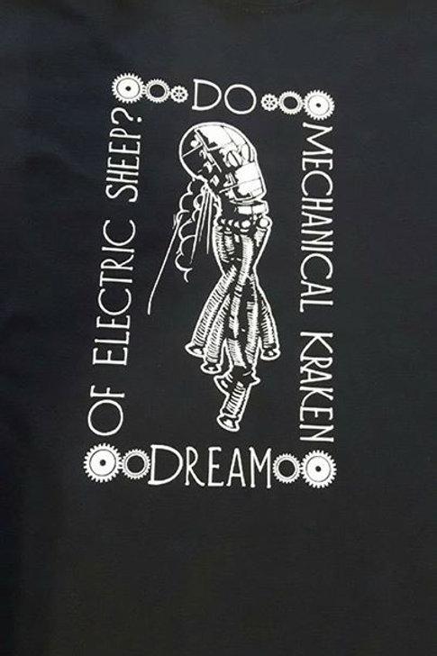 """Mechanical Kraken, """"Do Mechanical Kraken Dream of Electric Sheep?"""""""